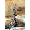 抽象油畫(含框)-y15292-油畫抽象系列