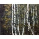 白華樹-李鐵江-y15351 畫作系列-油畫-風景