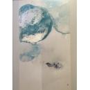 藍色映像- y15503 - 畫作系列 - 油畫 - 油畫抽象系列