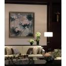 映像荷花- y15509 - 畫作系列 - 油畫 - 油畫花系列