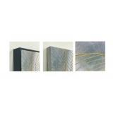 y15705 - 畫作系列 - 油畫 - 油畫抽象系列-金線
