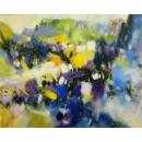 我心飛揚- y15525 - 畫作系列 - 油畫 - 油畫抽象系列