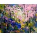 春陽芬芳- y15526 - 畫作系列 - 油畫 - 油畫抽象系列