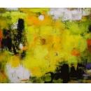 印象叢林- y15527 - 畫作系列 - 油畫 - 油畫抽象系列