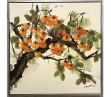 柿柿如意-y15589-油畫-油畫靜物