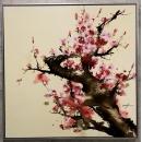 櫻花-y15590-油畫-油畫花系列