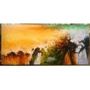 極光- y15592 - 畫作系列 - 油畫 - 油畫抽象系列