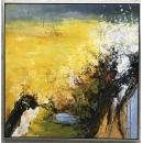 極光- y15593 - 畫作系列 - 油畫 - 油畫抽象系列