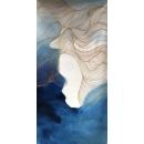 y15704 - 畫作系列 - 油畫 - 油畫抽象系列-金線