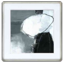 y15810 - 畫作系列 - 油畫 - 油畫抽象系列-無涯(三)
