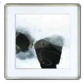 y15811 - 畫作系列 - 油畫 - 油畫抽象系列-無涯(四)