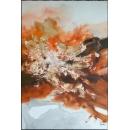 y16006 - 畫作系列 - 油畫 - 油畫抽象系列- 極限(手繪)