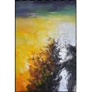 y16012 - 畫作系列 - 油畫 - 油畫抽象系列- 極光系列(手繪)-極光六