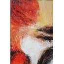 y16024 - 畫作系列 - 油畫 - 油畫抽象系列- 極光系列(手繪)-極光十八