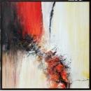 y16025 - 畫作系列 - 油畫 - 油畫抽象系列- 極光系列(手繪)-極光十九