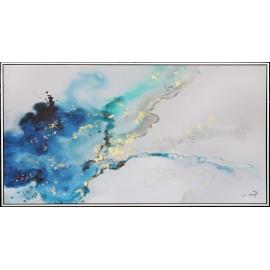 行雲流水-y16124 - 畫作系列 - 油畫 - 油畫抽象系列