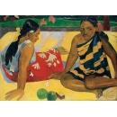 保羅•高更《沙灘上的大溪地女人》- y16141 複製畫-複製畫人物系列