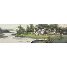 y16309 - 楊泉玉 國畫山水 - 畫作系列-國畫-國畫山水
