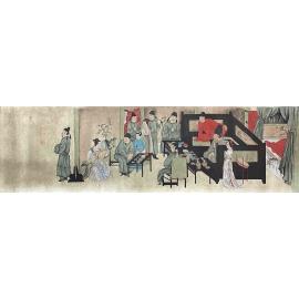 y16296 國畫- 國畫人物系列