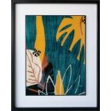 y16044 複製畫-複製畫瓶花系列-扇頁