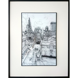 y16042 複製畫-複製畫風景系列-邂逅街景