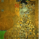 y15918複製畫-複製畫人物系列-克林姆~布洛赫-鮑爾夫人