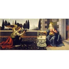 y15920複製畫-複製畫人物系列-達文西天使報喜