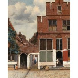 y15923複製畫-複製畫風景系列-維梅爾小街