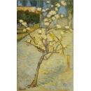 y15941複製畫-複製畫風景系列-梵谷  盛開的小梨樹