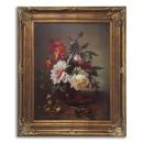 瓶中的玫瑰裱框 y16393 裝框裱褙相框系列- 裱框成品參考