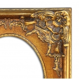 實木雕刻框 y16400-裝框裱褙相框系列-框樣