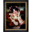 三少女之美裱框(框M4541G+781G)-y16390裝框裱褙相框系列- 裱框成品參考