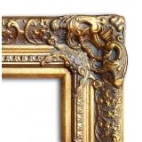 實木雕刻框 y16401-裝框裱褙相框系列-框樣