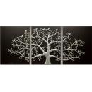 立體浮雕版畫-生命之樹-銀/3入一組-y15300-畫作系列