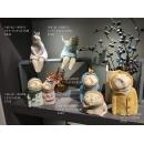 抽象小孩擺飾 - y16219 立體雕塑.擺飾 立體擺飾系列 動物、人物系列 / 北歐風格文創性精靈裝飾擺件.仿泥塑童話人物擺件.臥室裝飾品創意擺