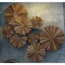 y14426 立體壁飾- 抽象系列 - 棕櫚壁飾