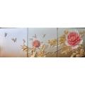 富貴天香 壁飾 (y14587 立體壁飾   花、植物系列)