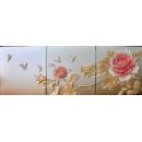 富貴天香 壁飾 (y14587 立體壁飾   花、植物系列) -牡丹花