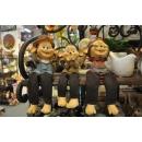猴子家族/不聽不看不說-y15262-立體雕塑.擺飾-立體擺飾系列