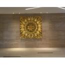 木雕壁飾-y15505-立體壁飾系列-抽象壁飾/150x150cm