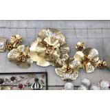 立體鐵花鐵藝壁飾- y16083 鐵材藝術 - 鐵雕壁飾系列 / 立體壁飾-花、植物系列
