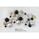 幾何鐵藝壁飾- y16149 鐵材藝術 - 鐵雕壁飾系列 / 立體壁飾-抽象系列