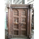 印度雕刻門板-y15347-木.竹.根雕
