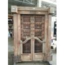 印度木門版-y15348-木.竹.根雕