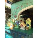 手繪鳥屋/個-大(內有小尺寸可選)-y15295傢俱系列 實木家具