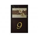 y11458 藝術招牌設計系列-自然風原木素材門牌設計