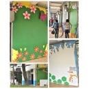 y13753 藝術招牌設計-壁飾- 瑞梅國小 藝術畫廊展示牆設計