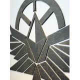 KING科技塗層LOGO招牌製作/ 黑鐵+半鏽蝕效果 - y16211 立體客製招牌- 藝術招牌設計-鐵雕招牌系列