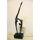 y10644 銅雕系列-銅雕人物 - 大理石底座-舞者*