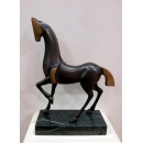 銅雕藝術馬(古銅色) y14081 立體雕塑.擺飾 立體擺飾系列-動物、人物系列
